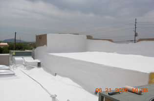 Professional services with 1st Class Foam Roofing
